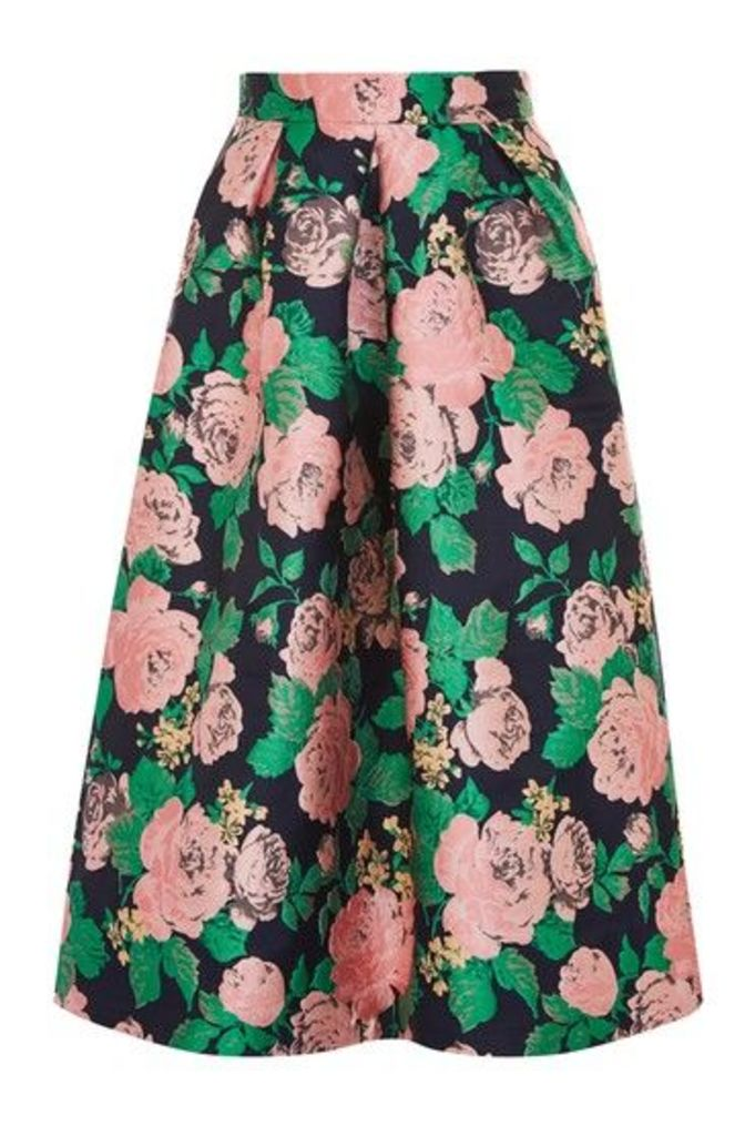 Womens Rose Prom Skirt - Multi, Multi