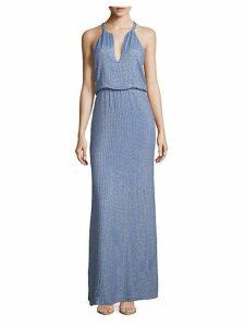 Marceline Embellished Blouson Gown