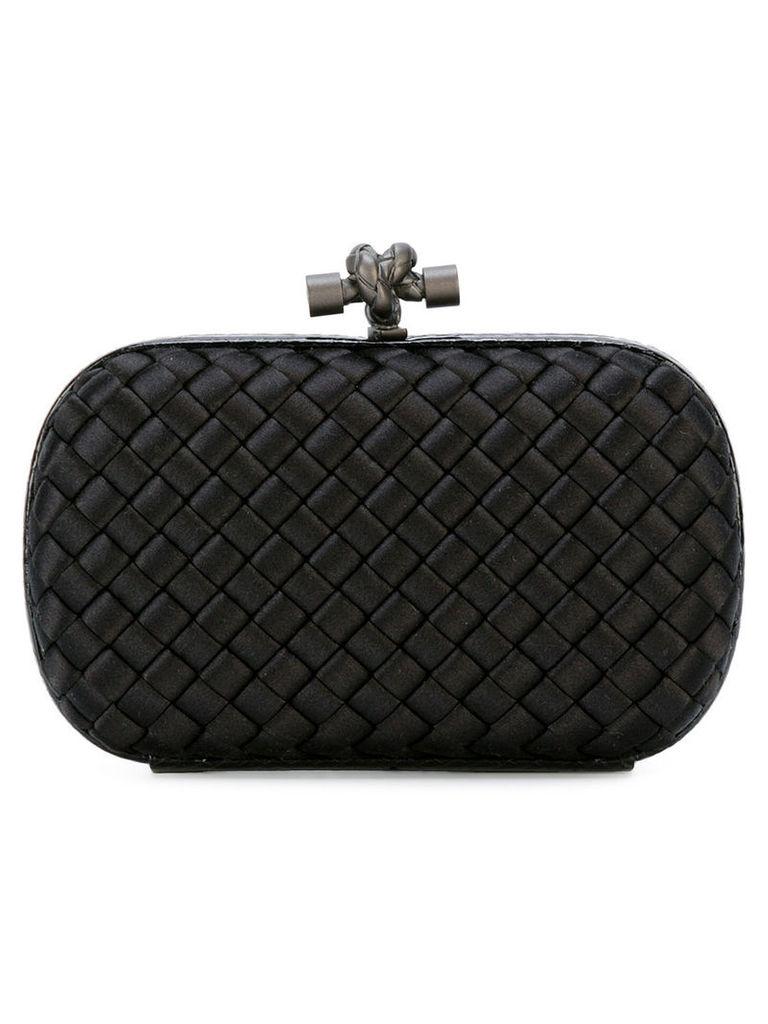 Bottega Veneta - woven knot clutch - women - Leather/Polyester - One Size, Women's, Black