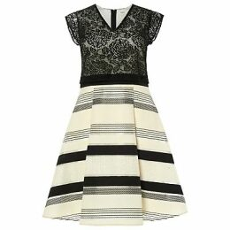 Studio 8 Coco Dress, Black/Ivory