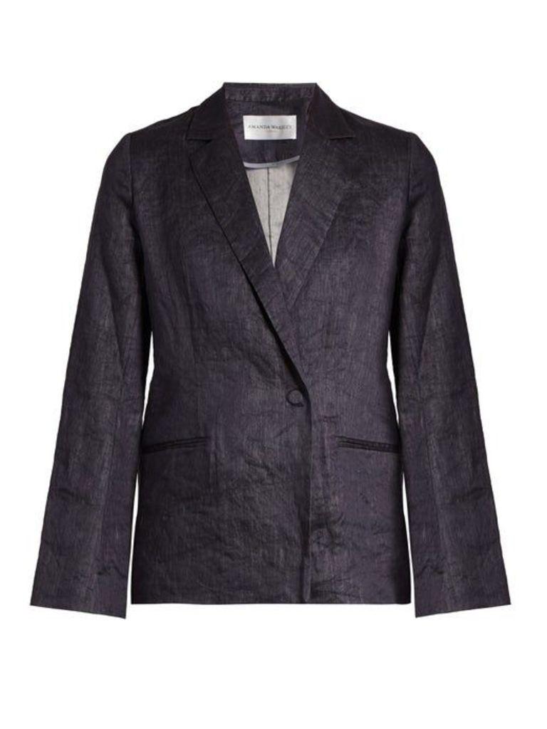 Amanda Wakeley - Echo Denim Jacket - Womens - Denim