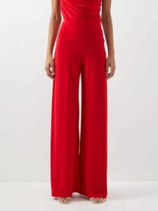 Diane Von Furstenberg - Bi Colour Silk Crepe De Chine Dress - Womens - Yellow Print