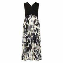 Studio 8 Federica Maxi Dress, Black/White