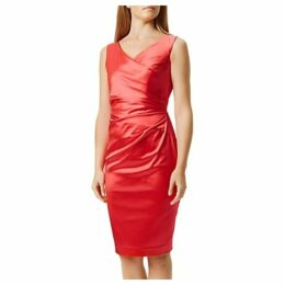Damsel in a Dress Lini Dress, Raspberry