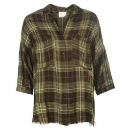 Firetrap Blackseal Check Shirt - Green