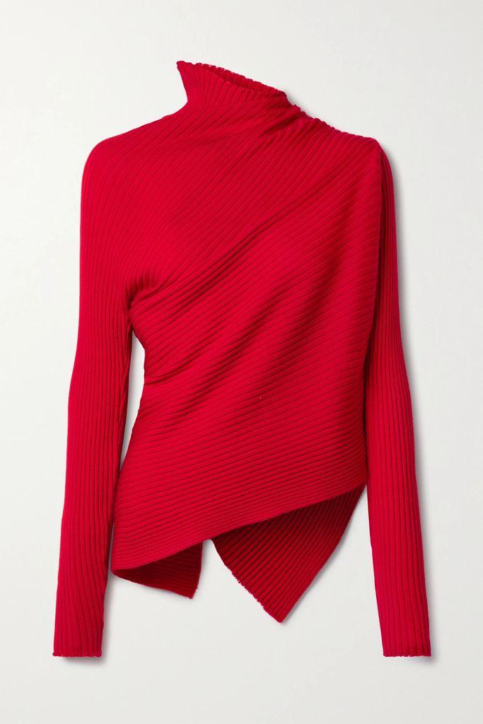 The Row - Rabina Stretch-jersey Midi Skirt - Black