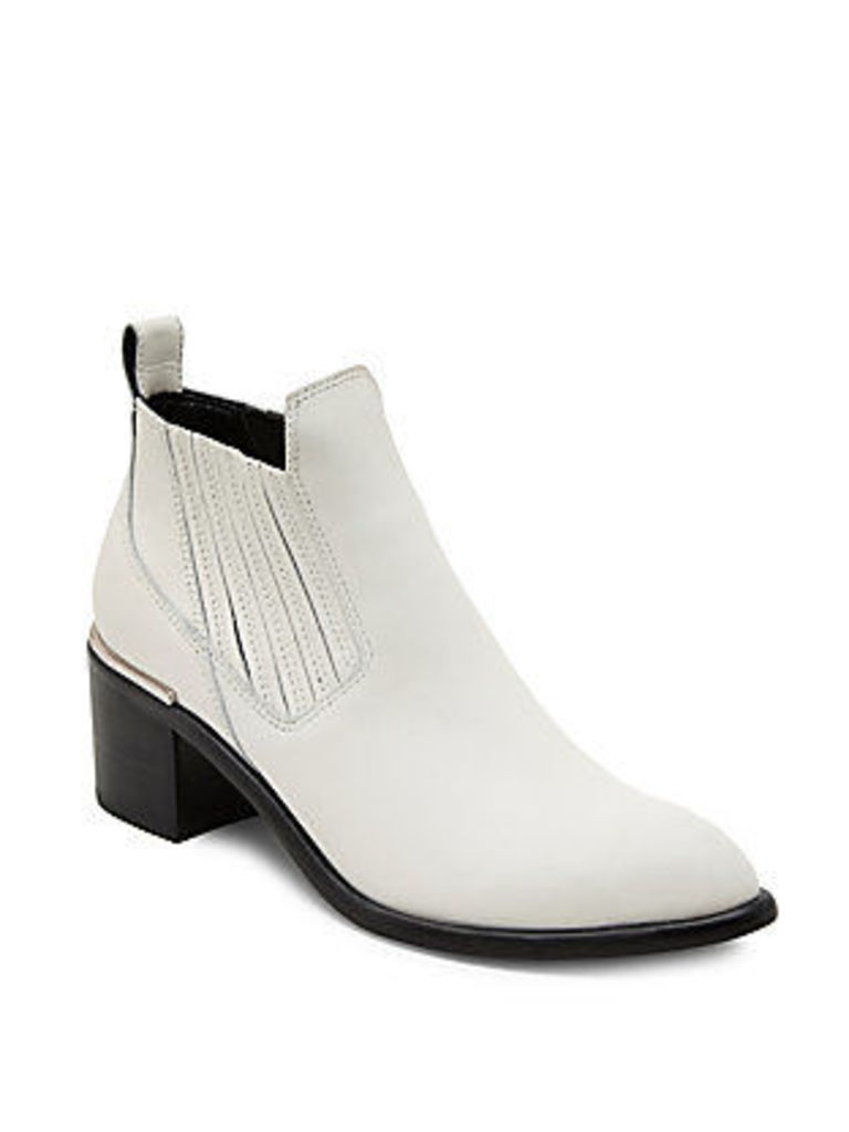 Percy Leather Booties