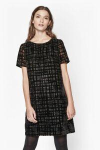 Devore Scribble Dress
