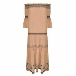 Rachel Zoe Cassidee Embroidered Silk Gown