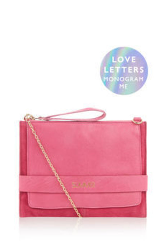 MONOGRAM ENVELOPE CLUTCH BAG