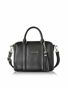 Lancaster Paris Designer Handbags, Mademoiselle Ana Grained Leather Small Duffle Bag