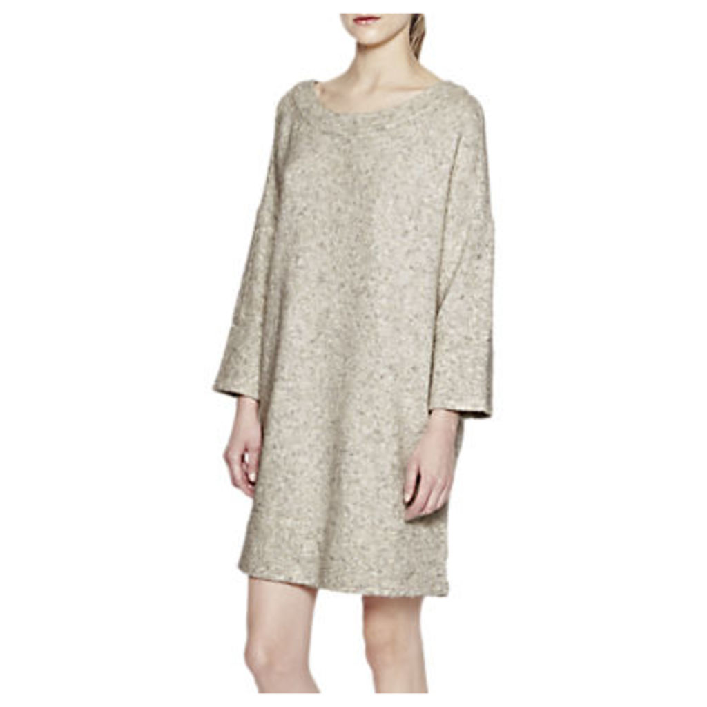 French Connection Flossy Oversized Jumper, Light Oatmeal Mel