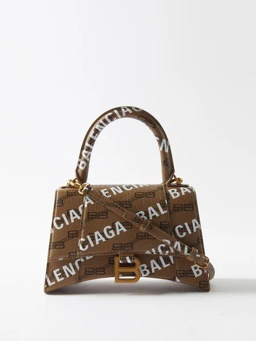 Preen By Thornton Bregazzi - Phillipa Silk Blend Devoré Top - Womens - Black Stripe
