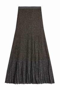 Roberto Cavalli Skirt with Metallic Thread
