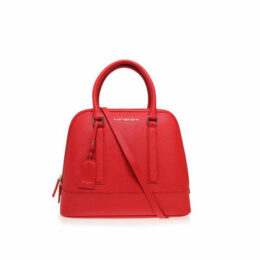 SAFFIANO TALL BOWLING BAG