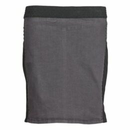 Cream  HAISE  women's Skirt in Grey