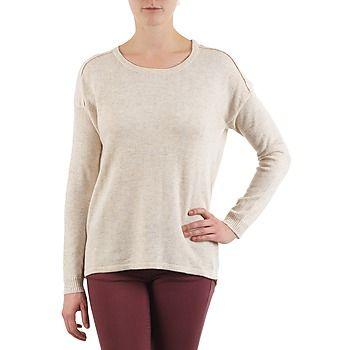 Color Block  3265194  women's Sweater in Beige