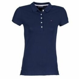 Tommy Hilfiger  NEW CHIARA  women's Polo shirt in Blue