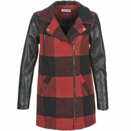 Noisy May  TEXAS  women's Coat in Red