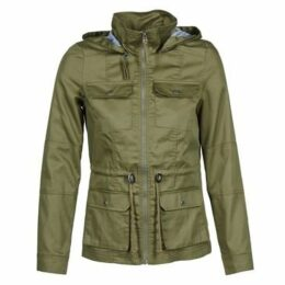 Noisy May  HOLLOW  women's Parka in Green