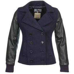 American College  CABAN FEMME  women's Coat in Blue