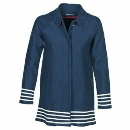 Little Marcel  MARINE  women's Coat in Blue