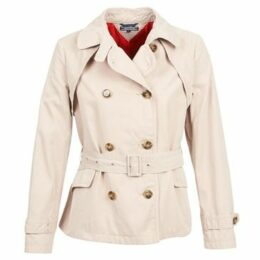 Tommy Hilfiger  KAHLEE  women's Trench Coat in Beige