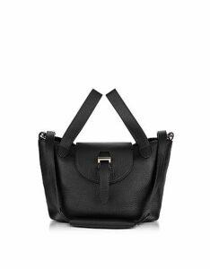 Meli Melo Designer Handbags, Black Thela Mini Cross Body Bag