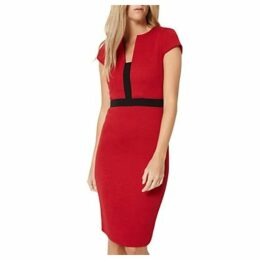 Damsel in a Dress Rhumba Dress, Red/Black