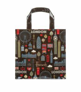 Small Glitter London Shopper Bag