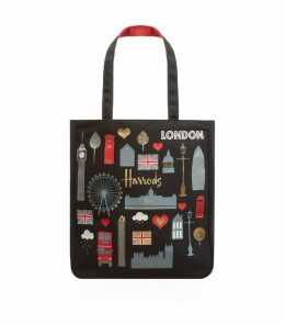 London Glitter Tote Bag