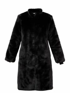 Diane Von Furstenberg - Sleeveless Open Back Floral Print Silk Dress - Womens - Orange Print