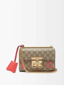 Racil - Warwick Hound's Tooth Wool Cropped Trousers - Womens - Brown Multi