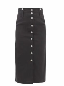 Zandra Rhodes - Summer Collection The 1973 Field Of Lilies Gown - Womens - Burgundy Multi