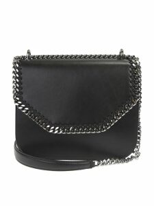 Stella McCartney Black Falabella Large Box Crossbody Bag