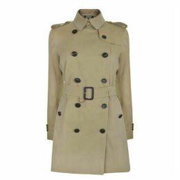 Burberry Mid Length Kensington Coat
