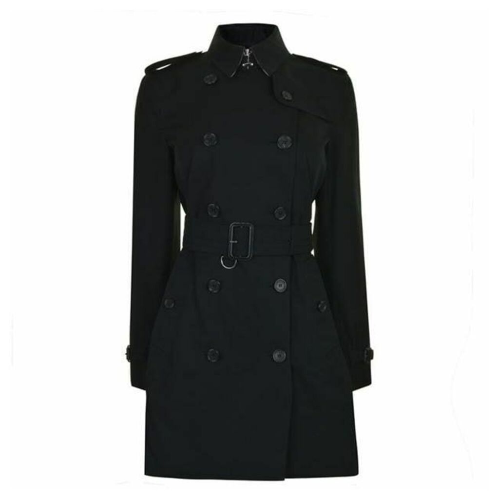 BURBERRY Mid Length Kensington Coat