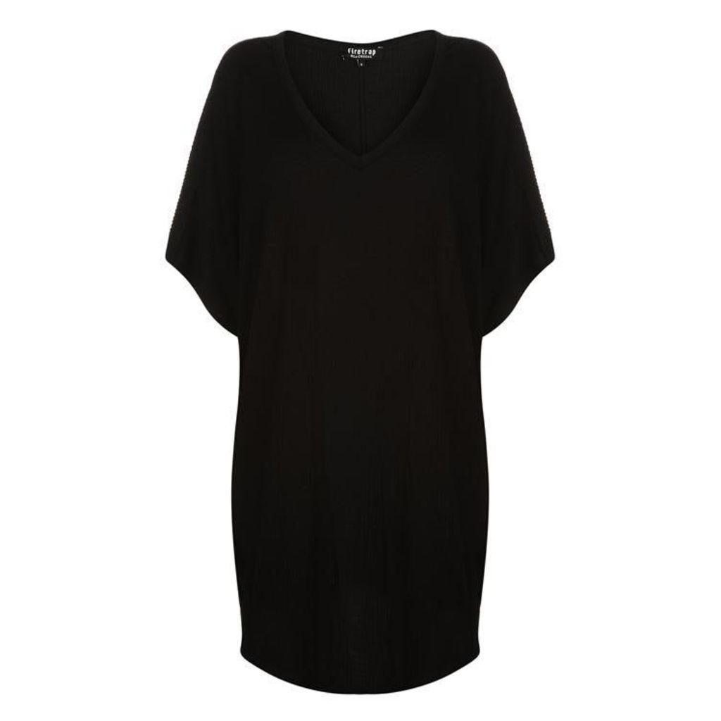 Firetrap Blackseal Crinkle Dress