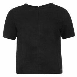Firetrap Suede T Shirt Ladies