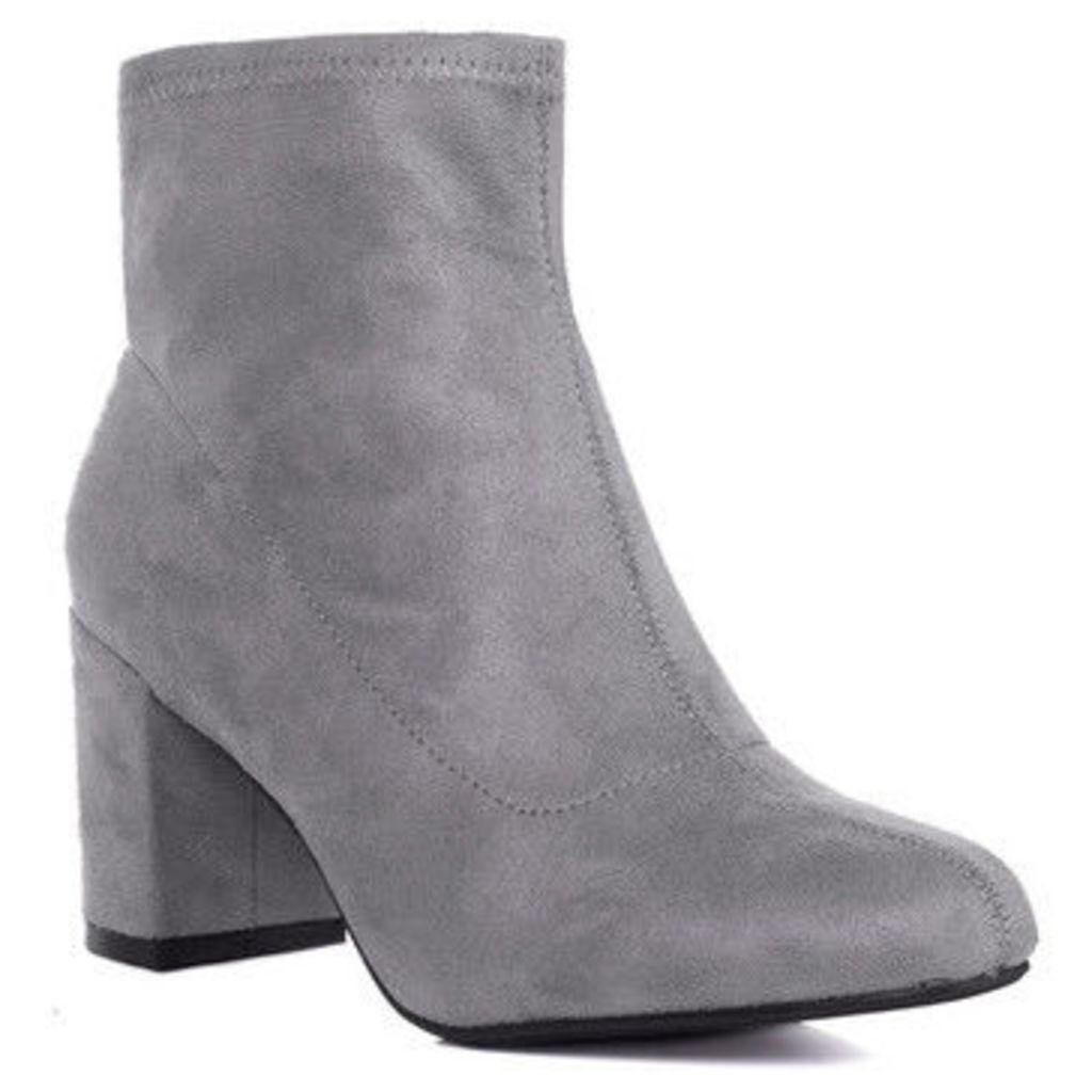 Spylovebuy  Mazo  women's Low Ankle Boots in Grey