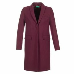 Benetton  MADIR  women's Coat in Red