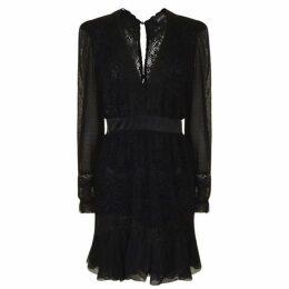 Just Cavalli Flock Lace Dress