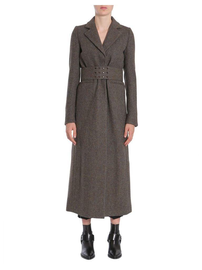 Maison Margiela Long Wool Coat