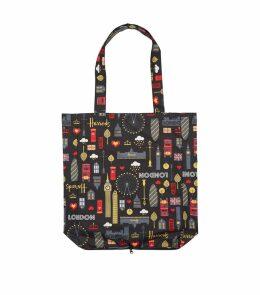 Glitter London Pocket Shopper Bag