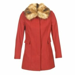 Naf Naf  APRAGA  women's Coat in Red