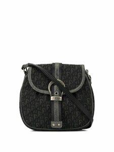 Christian Dior Pre-Owned Trotter crossbody shoulder bag - Black