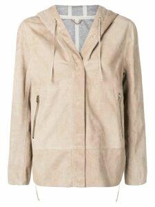 Herno hooded jacket - Neutrals