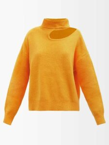 Peter Pilotto - Floral Chenille Asymmetric Velvet Skirt - Womens - Black Print