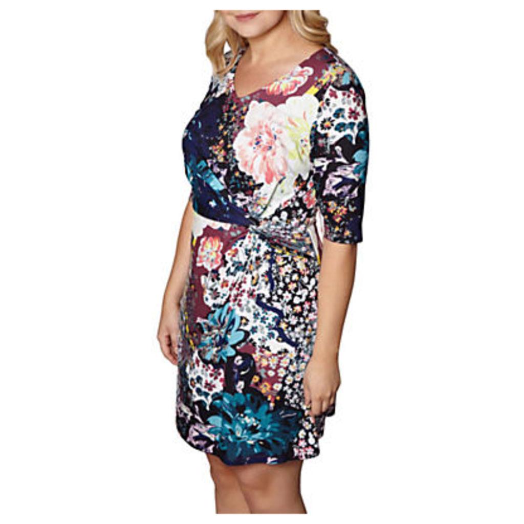 Yumi Curves Floral Print Dress