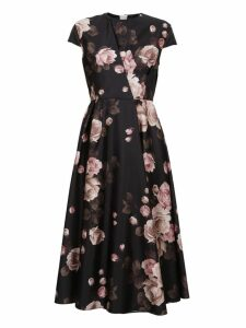 Rochas Floral Dress